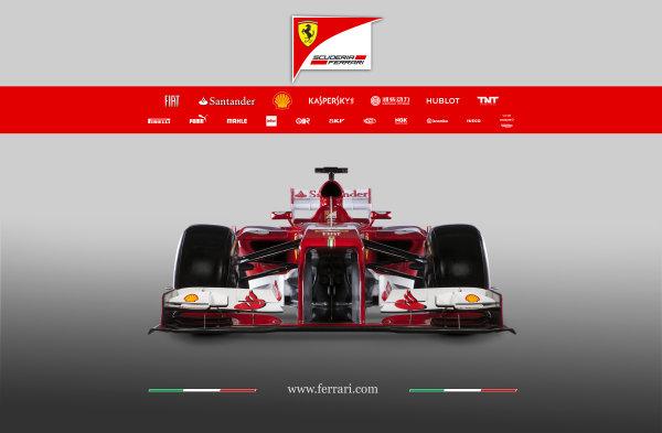 Maranello, Italy   The new Ferrari F138. Studio image. Photo: Ferrari (  ref: Digital Image 130005_f138