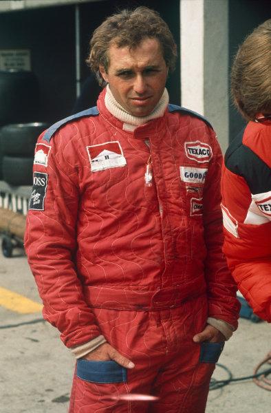 Nurburgring, Germany. 1st August 1976.Jochen Mass (McLaren M23-Ford), 3rd position, portrait. World Copyright: LAT PhotographicRef: 76GER