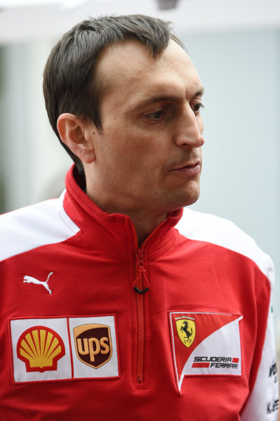 Riccardo Adami (ITA) Ferrari Engineer at Formula One World Championship, Rd1, Australian Grand Prix, Qualifying, Albert Park, Melbourne, Australia, Saturday 14 March 2015.