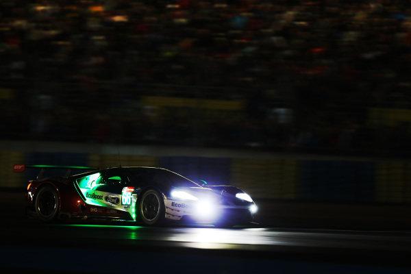 #66 Ford Chip Ganassi Racing Ford GT: Stefan Mucke, Olivier Pla, Billy Johnson