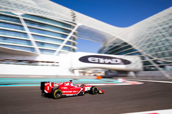 2017 FIA Formula 2 Round 11. Yas Marina Circuit, Abu Dhabi, United Arab Emirates. Friday 24 November 2017. Charles Leclerc (MCO, PREMA Racing).  Photo: Sam Bloxham/FIA Formula 2. ref: Digital Image _J6I1384