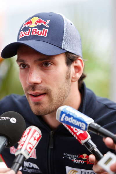 Monte Carlo, Monaco 22nd May 2013 Jean-Eric Vergne, Toro Rosso World Copyright: Charles Coates/LAT Photographic ref: Digital Image _N7T0425