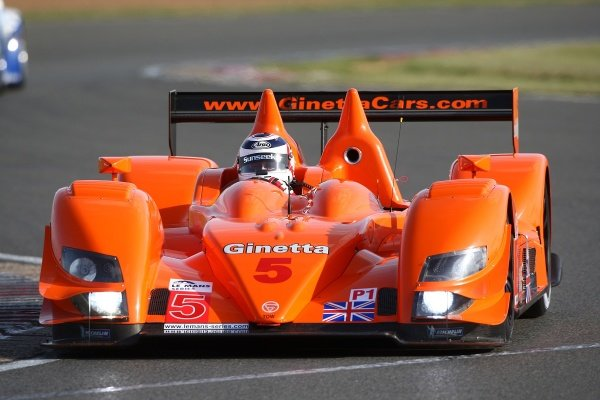 Nigel Mansell (GBR), Team LNT Ginetta-Zytek GZ09S.Le Mans Series, Rd7, Silverstone, England, Sunday 13 September 2009.