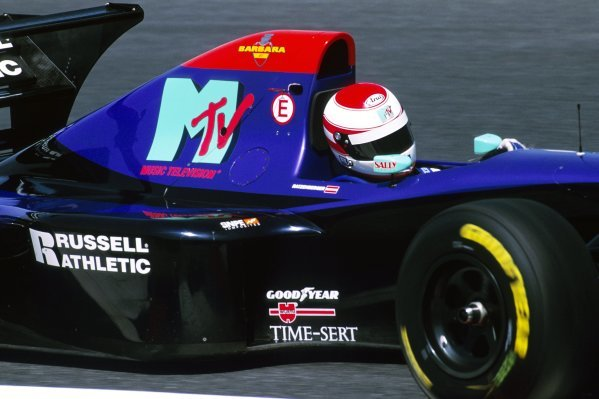 Roland Ratzenberger (AUT) Simtek S941 finished eleventh in what would be his first and only GP start.