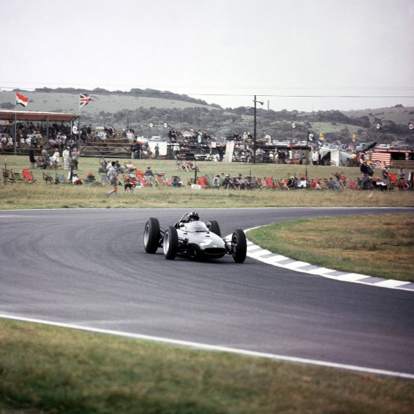 East London, South Africa.27-29 December 1962.Graham Hill (BRM P57) 1st position.Ref-3/0761.World Copyright - LAT Photographic