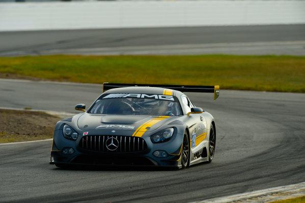 17-18  November,  2015, Daytona Beach, Florida, USA 190, Mercedes, AMG GT3, GTD, Thomas Jager, Yelmer Buurman ©2015, Richard Dole LAT Photo USA