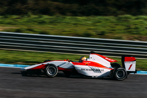 2016 GP3 Series Testing. Estoril, Portugal. Wednesday 23 March 2016. Charles Leclerc (MON) ART Grand Prix   World Copyright: Malcolm Griffiths/LAT Photographic. ref: Digital Image F80P3550