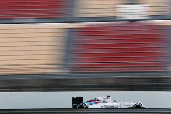 Circuit de Catalunya, Barcelona, Spain Monday 22 February 2016. Valtteri Bottas, Williams FW38 Mercedes. World Copyright: Alastair Staley/LAT Photographic ref: Digital Image _79P9795