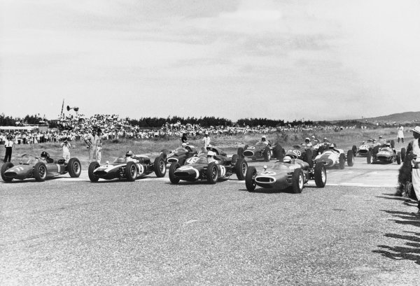 Teretonga Park, Invercargill, New Zealand. 27th January 1962.