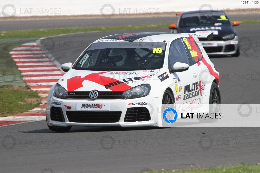 2014 Volkswagen Racing Cup, Silverstone 31st May -1st June James Walker World copyright: Jakob Ebrey/LAT Photograpghic