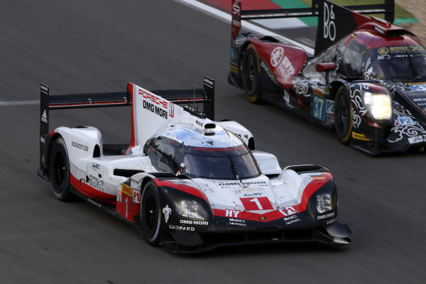 2017 World Endurance Championship, Nurburgring, Germany. 14th-16th July 2017 #1 Porsche LMP Team Porsche 919 Hybrid: Neel Jani, Andre Lotterer, Nick Tandy  World JEP/LAT Images