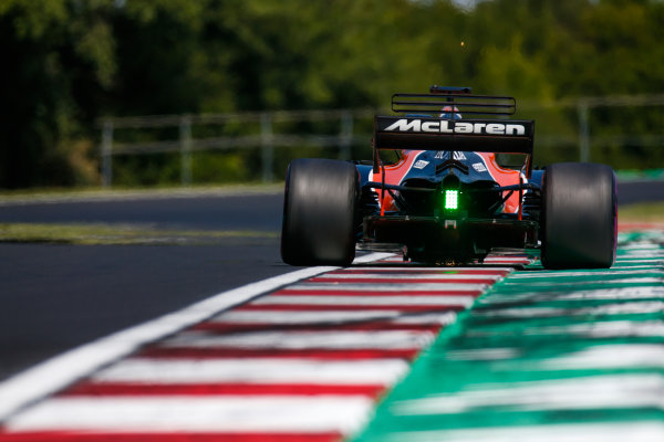 Hungaroring, Budapest, Hungary.  Wednesday 02 August 2017. Lando Norris, McLaren MCL32 Honda. World Copyright: Joe Portlock/LAT Images  ref: Digital Image _L5R2966