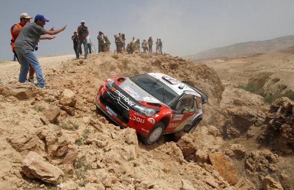 Round 04 Rally Jordan. 14th-16th April 2011.Petter Solberg, Citroen WRC, Action.Worldwide Copyright: McKlein/LAT