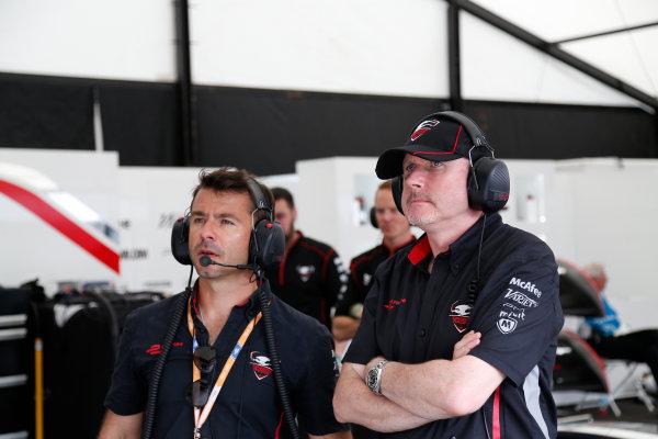 Miami e-Prix Race 2015. Oriol Servia - Director of Racing at Dragon Racing.  FIA Formula E World Championship. Miami, Florida, USA. Saturday 14 March 2015.  Copyright: Adam Warner / LAT / FE ref: Digital Image _L5R4110