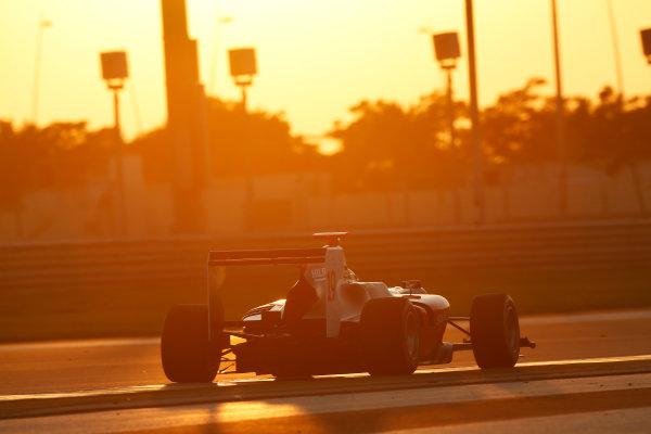 2014 GP3 Series Test 3.   Yas Marina Circuit, Abu Dhabi, United Arab Emirates. Saturday 29 November 2014. Riccardo Agostini (ITA, Hilmer Motorsport)  Photo: Sam Bloxham/GP3 Series Media Service. ref: Digital Image _14P2998