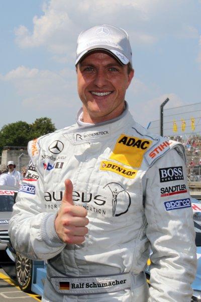 Ralf Schumacher (GER), Laureus AMG Mercedes took Pole Position.DTM, Rd4, Norisring, Nuremberg, Germany. 2-4 July 2010 World Copyright: LAT PhotographicRef: Digital Image dne1003jy89
