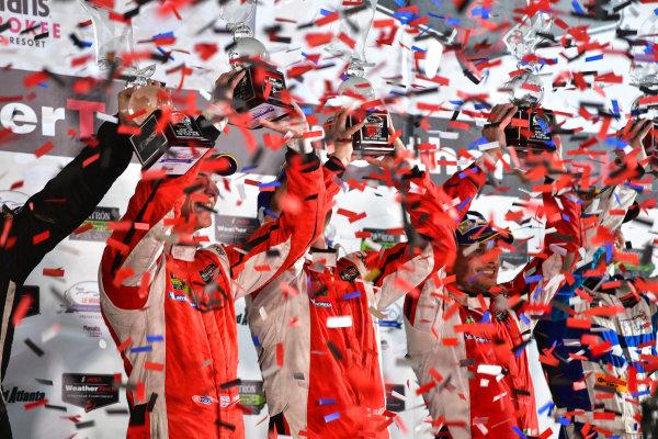 28 September -1 October 2016,  Braselton, Georgia USA 62, Ferrari, F488 GTE, GTLM, Giancarlo Fisichella, Toni Vilander, James Calado ©2016, Richard Dole LAT Photo USA
