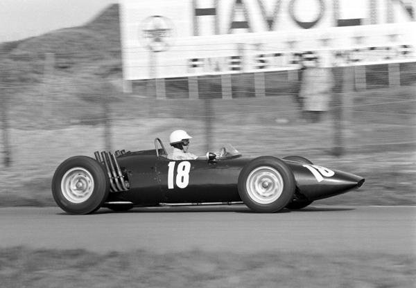 Richie Ginther (USA) BRM P48/57 was an official retiree after colliding with another driver late in the race.