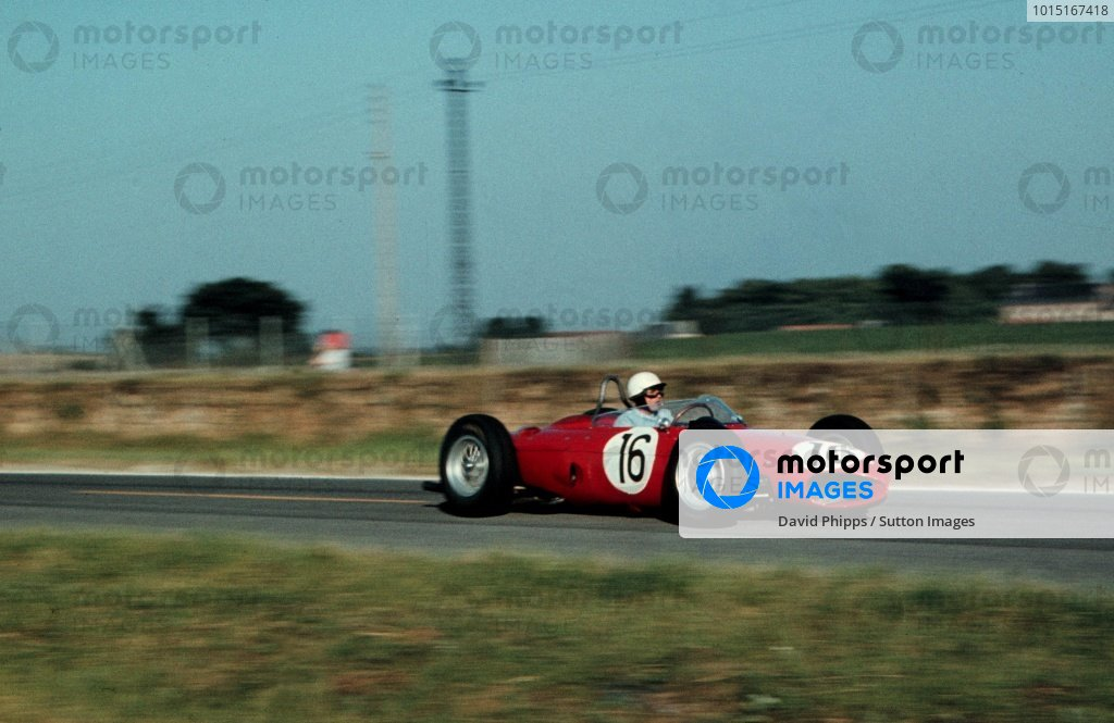Phil Hill(USA) Ferrari 156French GP, Rheims, 2 July 1961
