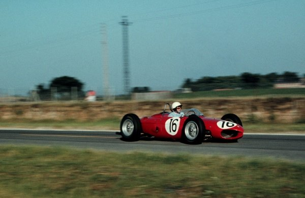 Phil Hill(USA) Ferrari 156