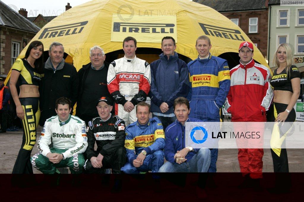 2006 British Rally Championship,Pirelli International Rally, Carlisle 13th-14th May 2006,Past Pirelli Rally Winners,World Copyright: Jakob Ebrey/LAT Photographic.