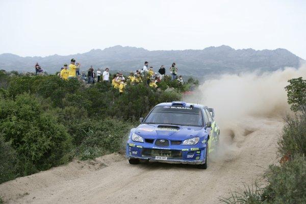 FIA World Rally Championship 2006Round 7Rally of Italy, Sardinia.18th - 21st May 2006.Chris Atkinson, Subaru, action.