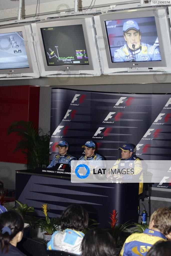 2006 Chinese Grand Prix - Saturday Qualifying