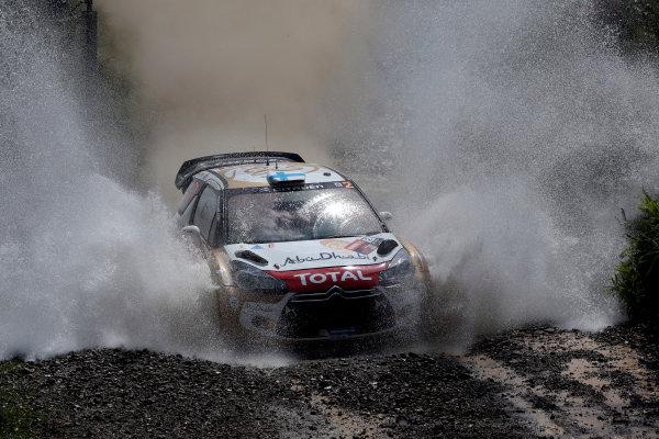 2013 FIA World Rally Championship Round 10, Rally Australia, 12th-15th September 2013. Mikko Hirvonen, Citroen. Worldwide Copyright: McKlein/LAT