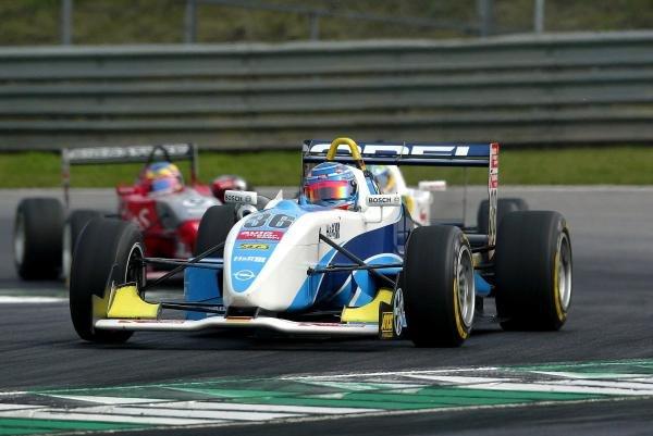Daniel La Rosa (GER) MB Racing Performance Dallara Opel.F3 Euro Series, Rd13 & Rd14, A1-Ring, Austria, 6 September 2003.DIGITAL IMAGE