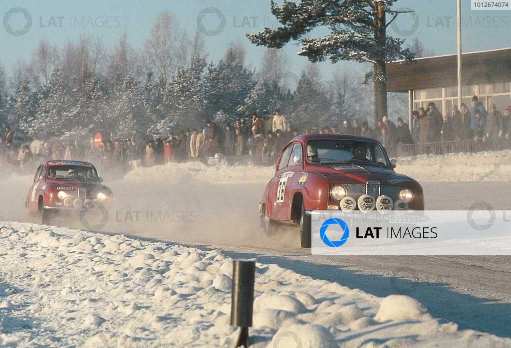 1968 European Rally Championship.
