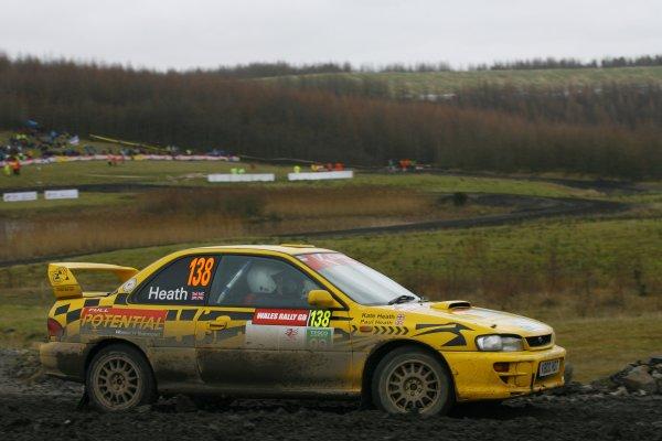 2006 British Rally Championship.Wales Rally GB. 1st-3rd December 2006.Kate Heath. World Copyright: Ebrey/LAT Photographic.