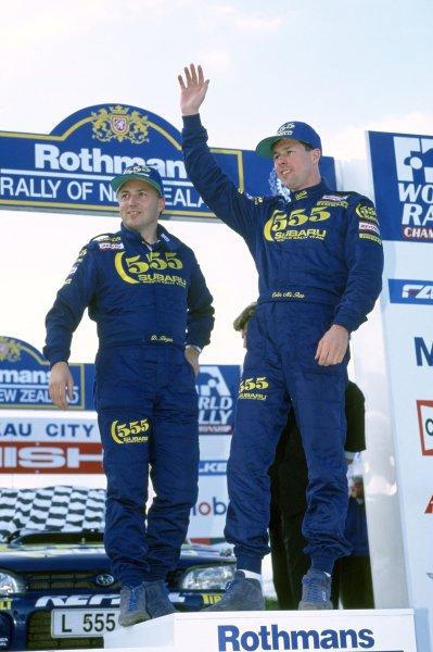 1994 World Rally Championship.New Zealand Rally, New Zealand. 29-31 July 1994.Colin McRae/Derek Ringer (Subaru Impreza 555), 1st position.World Copyright: LAT PhotographicRef: 35mm transparency 94RALLY21