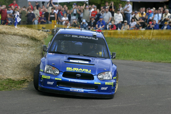 2004 FIA World Rally Champs. Round ten, 
