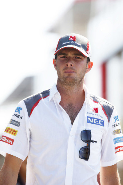 Circuit de Catalunya, Barcelona, Spain. Friday 9 May 2014. Guido van der Garde, Test and Reserve Driver, Sauber. World Copyright: Charles Coates/LAT Photographic. ref: Digital Image _N7T8429