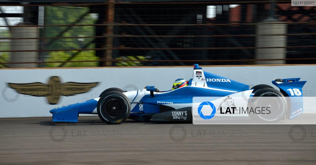 17-18 May, 2014, Indianapolis, Indiana, USA #18 Carlos Huertas, Dale Coyne Racing ©2014 Dan R. Boyd LAT Photo USA