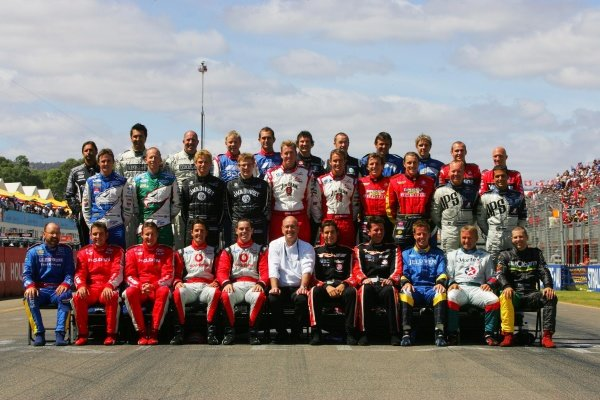 The 2007 drivers photo.