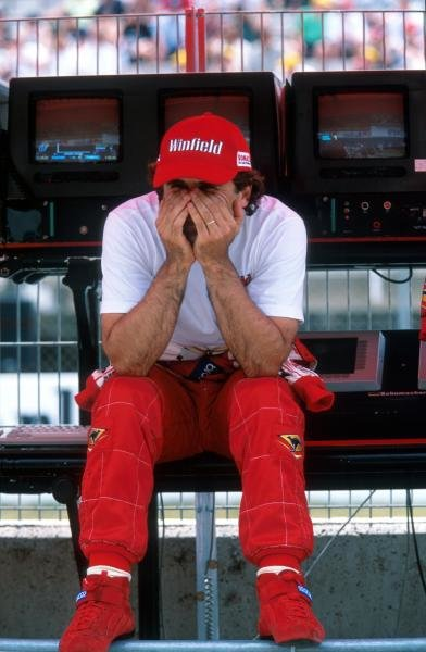 Alex Zanardi  (ITA) Williams FW21, DNF.
