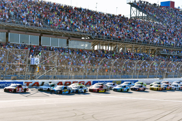 Monster Energy NASCAR Cup Series GEICO 500 Talladega Superspeedway, Talladega, AL USA Sunday 7 May 2017 Kyle Busch, Joe Gibbs Racing, Skittles Red, White, & Blue Toyota Camry World Copyright: Nigel Kinrade LAT Images ref: Digital Image 17TAL1nk07268