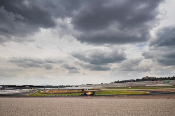 2016 GP3 Series Test 3. Circuit Ricardo Tormo, Valencia, Spain. Wednesday 26 April 2017. Ryan Tveter (USA, Trident)  Photo: Zak Mauger/GP3 Series Media Service. ref: Digital Image _56I6405