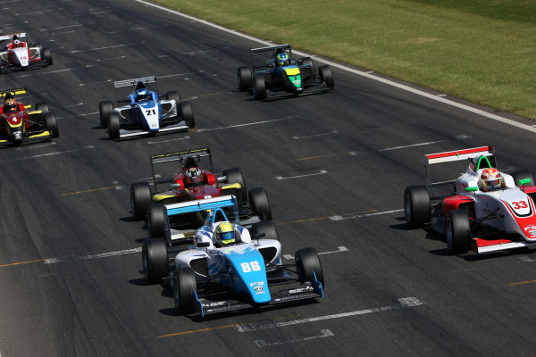 2017 BRDC British Formula 3 Championship, Snetterton, 27th-28th May 2017, Jordan Cane (GBR) Douglas Racing BRDC F3 World copyright. JEP/LAT Images