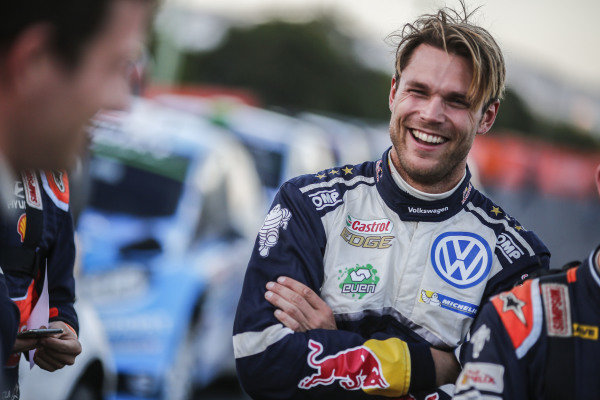 Andreas Mikkelsen (NOR), Volkswagen Motorsport II WRC at FIA World Rally Championship, Rd13, Rally Australia, Day One, Coffs Harbour, New South Wales, Australia, 18 November 2016.