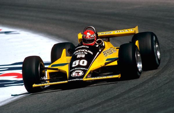 1980 Austrian Grand Prix.Osterreichring, Zeltweg, Austria.15-17 August 1980.Rupert Keegan (Williams FW07B Ford) 15th position.Ref-80 AUT 02.World Copyright - LAT Photographic