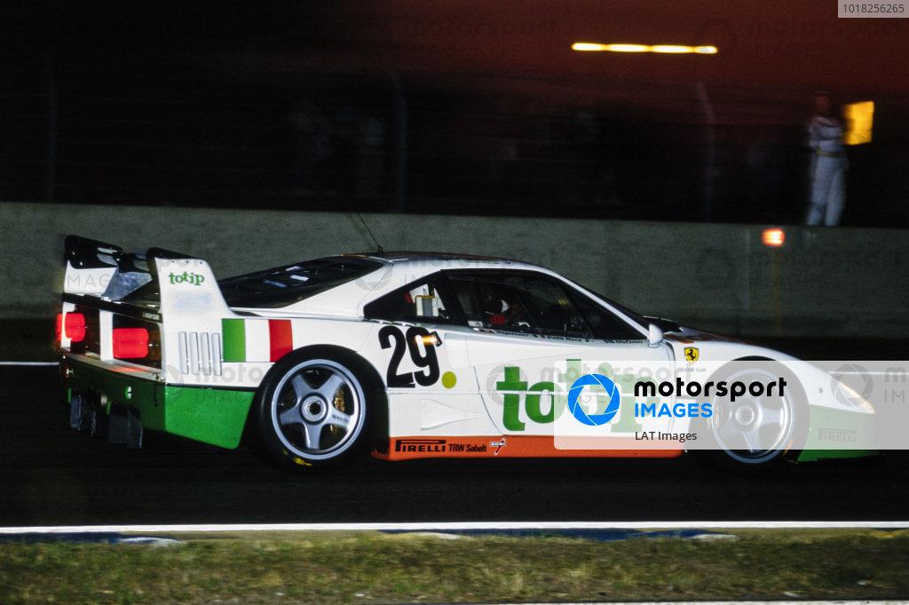 Anders Olofsson / Sandro Angelastro / Luciano Della Noce, Strandell, Ferrari F40 Turbo.