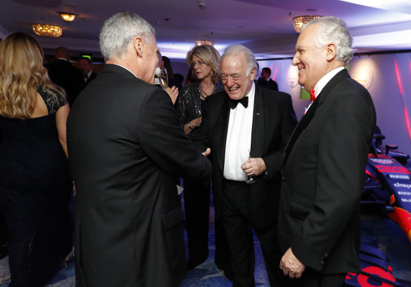 Chase Carey, Chairman, Formula 1, and Lord Peter Hain