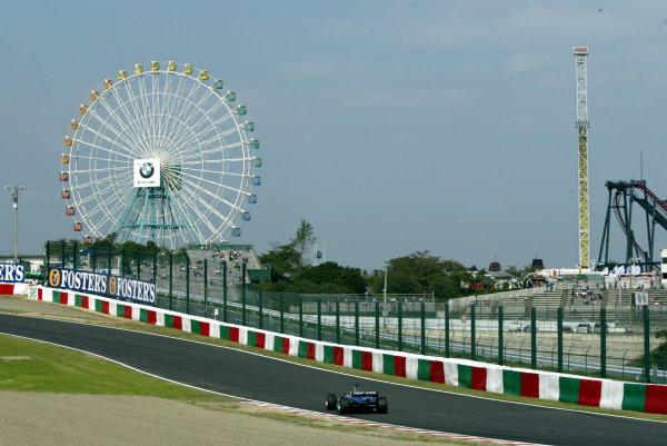 2002 Japanese Grand Prix.Suzuka, Japan. 11-13 October 2002.Felipe Massa (Sauber C21 Petronas).World Copyright - LAT Photographicref: Digital File Only