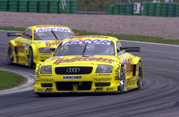 2000 DTM Championship.Sachsenring, Germany.6 August 2000. Rd 5/10.Christian Abt (Audi TT-R) off the pace.World - Hardwick/LAT Photographic