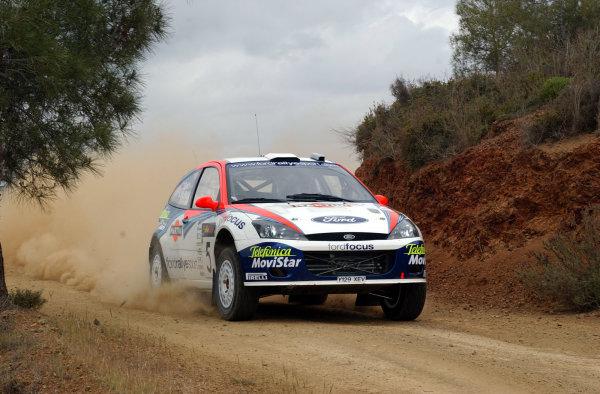 World Rally Championship, Cyprus Rally, April 18-21, 2002.Colin McRae during shakedownPhoto: Ralph Hardwick/LAT