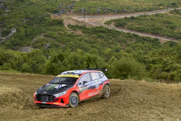 Oliver Solberg (SWE), Hyundai Motorsport N, Hyundai NG i20 Rally2