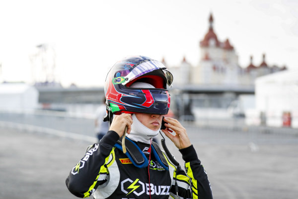 SOCHI AUTODROM, RUSSIAN FEDERATION - SEPTEMBER 27: Felipe Drugovich (BRA, Carlin Buzz Racing) during the Sochi at Sochi Autodrom on September 27, 2019 in Sochi Autodrom, Russian Federation. (Photo by Carl Bingham / LAT Images / FIA F3 Championship)