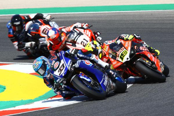 Marco Melandri, GRT Yamaha WorldSBK, Alvaro Bautista, Aruba.it Racing-Ducati Team.